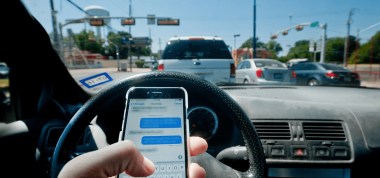 The Law on Texting, Calling and App Use While Driving