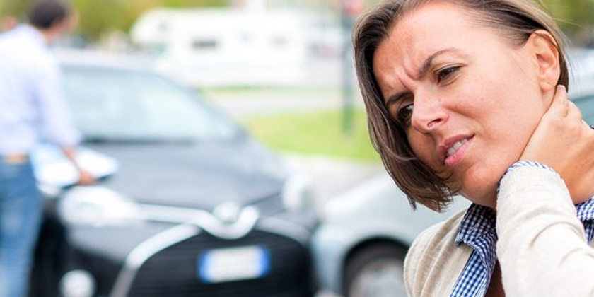 suffering delayed whiplash following a car accident?