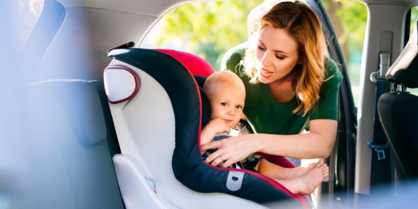 When should you replace child car seats following an accident?